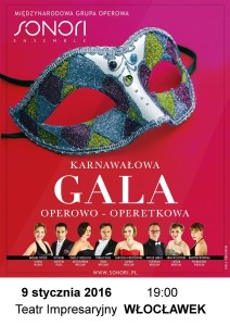 """""""Karnawałowa Gala Operowo-Operetkowa"""""""
