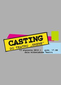 Casting do Skene (2) - plakat