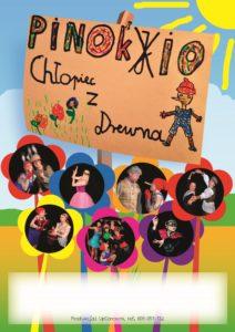 """Pinokio, chłopiec z drewna"" - plakat"