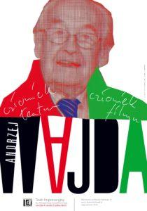 """Wystawa plakatu – """"Andrzej Wajda – człowiek teatru, człowiek filmu"""""""