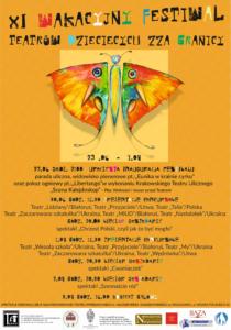 XI Wakacyjny Festiwal Teatrów Dziecięcych zza Granicy