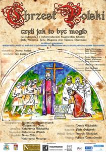 Chrzest Polski - plakat