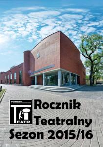 Rocznik Teatralny. Sezon 2015/16 - okładka