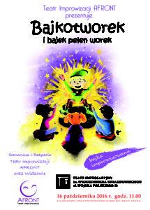 Bajkotworek - plakat