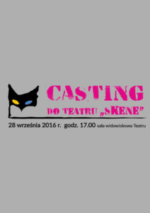 "Casting do Teatru ""Skene"""