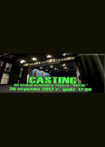 casting 2017 - plakat