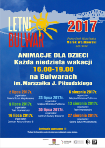 Letni Bulwar 2017 - plakat