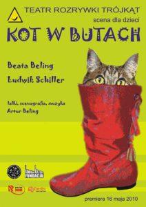 """Kot w butach"" - plakat"